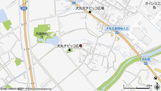 大分県中津市犬丸864周辺の地図