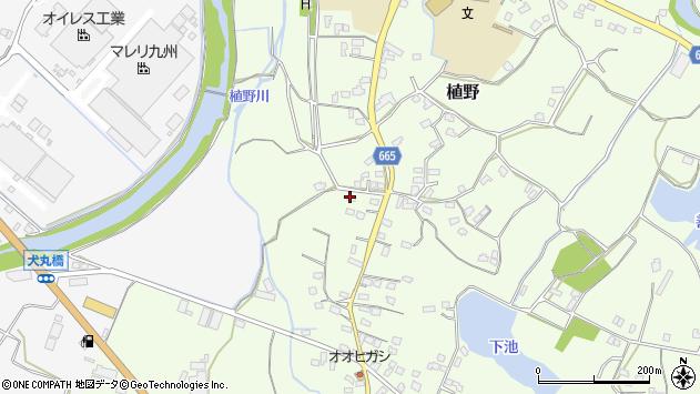 大分県中津市植野1229周辺の地図