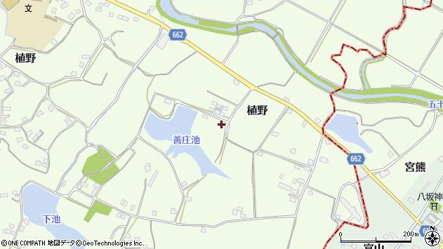 大分県中津市植野1673周辺の地図