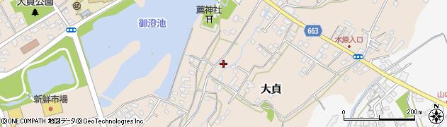 大分県中津市大貞192周辺の地図