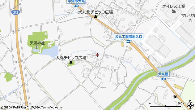 大分県中津市犬丸853周辺の地図
