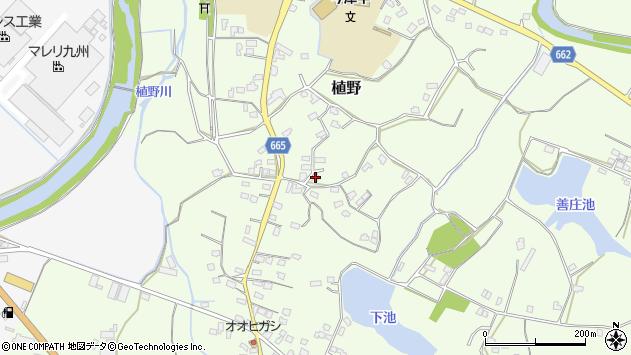 大分県中津市植野1460周辺の地図