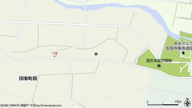 大分県国東市国東町原2924周辺の地図