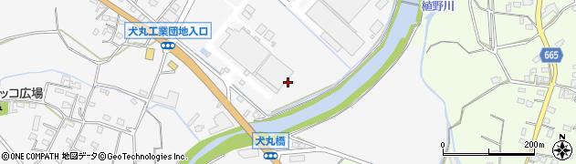 大分県中津市犬丸150周辺の地図