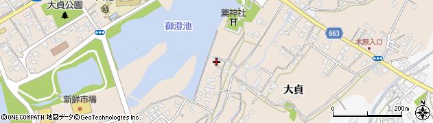 大分県中津市大貞195周辺の地図