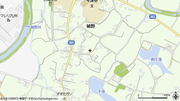 大分県中津市植野1461周辺の地図