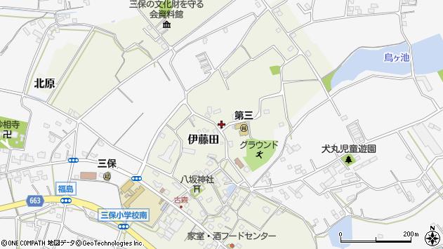 大分県中津市伊藤田2936周辺の地図