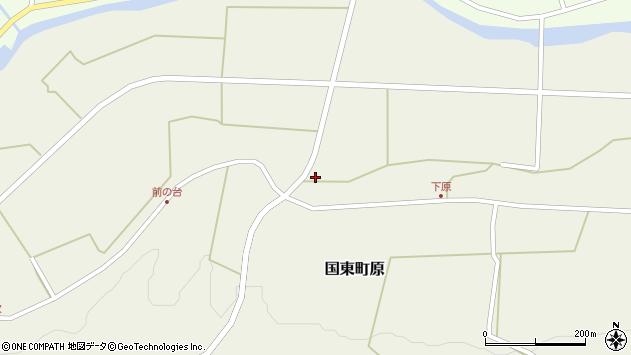 大分県国東市国東町原2307周辺の地図