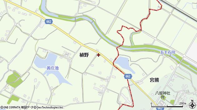 大分県中津市植野1657周辺の地図