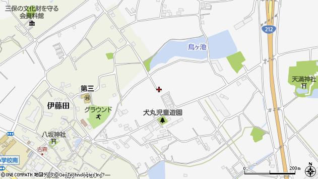 大分県中津市犬丸2170周辺の地図
