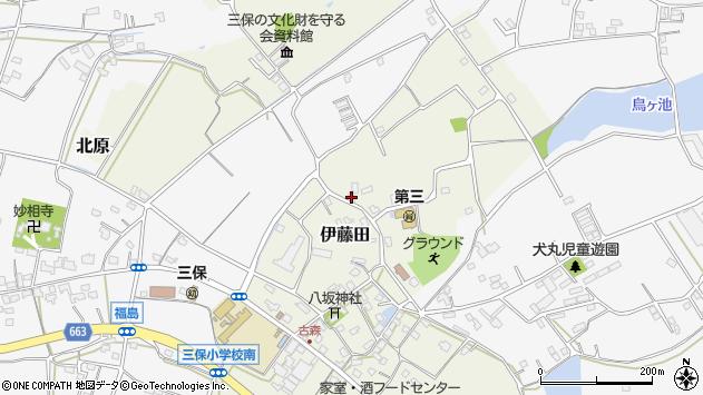 大分県中津市伊藤田2930周辺の地図