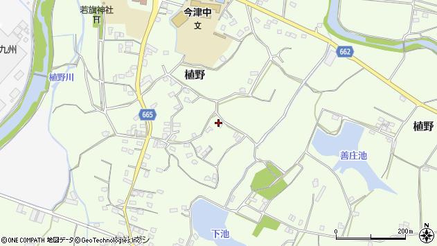 大分県中津市植野1469周辺の地図