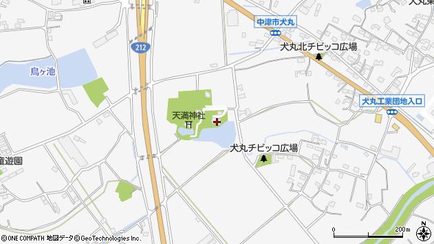 大分県中津市犬丸1506周辺の地図
