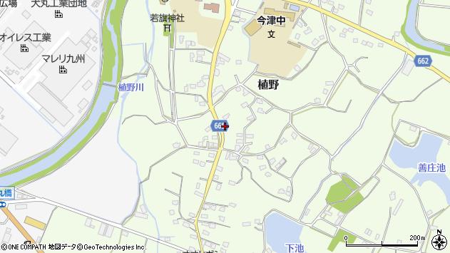 大分県中津市植野1445周辺の地図