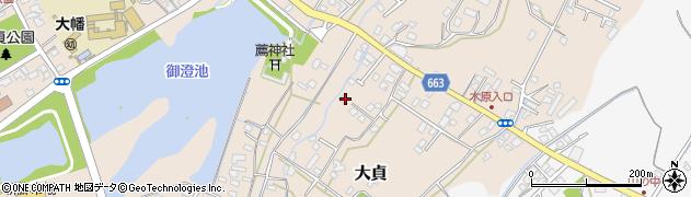 大分県中津市大貞111周辺の地図