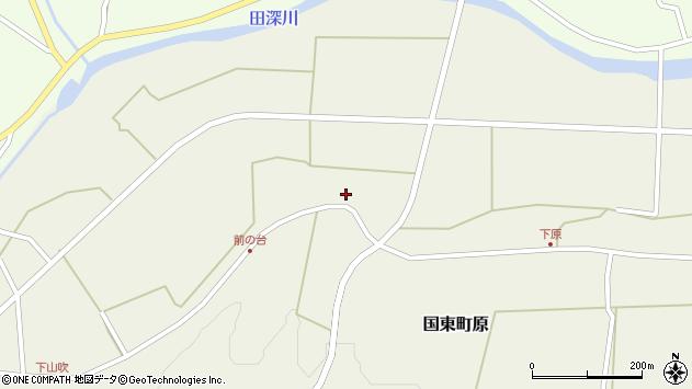 大分県国東市国東町原2094周辺の地図