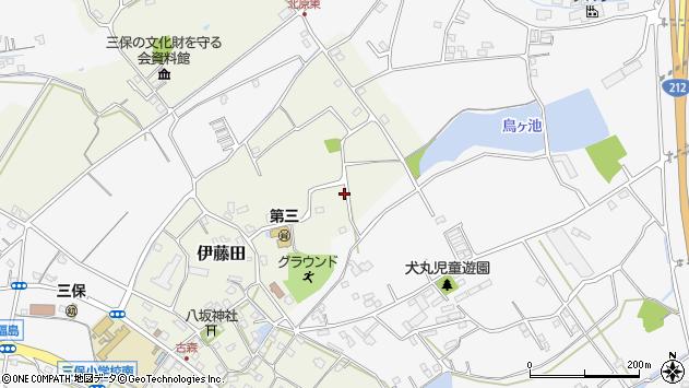 大分県中津市伊藤田2958周辺の地図
