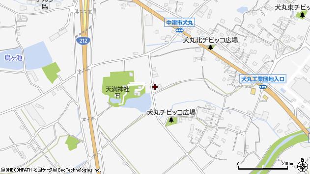 大分県中津市犬丸1305周辺の地図