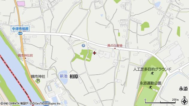 大分県中津市相原3032周辺の地図
