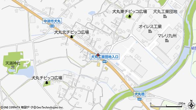 大分県中津市犬丸652周辺の地図