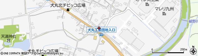 大分県中津市犬丸235周辺の地図