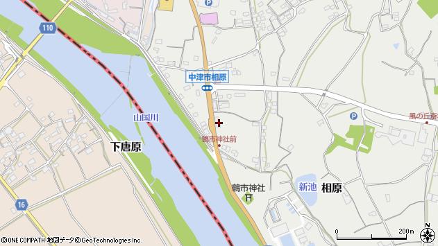 大分県中津市相原3381周辺の地図