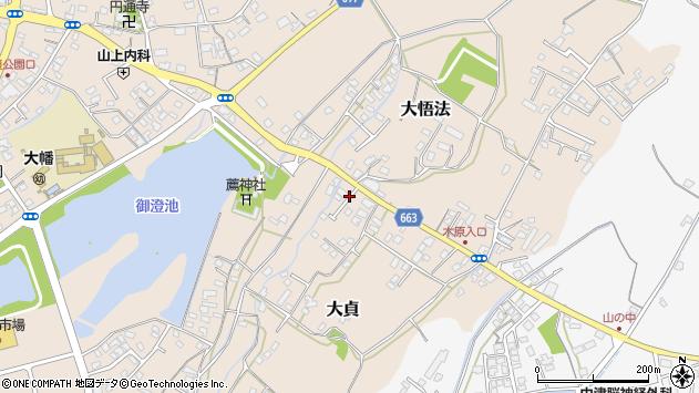 大分県中津市大貞142周辺の地図