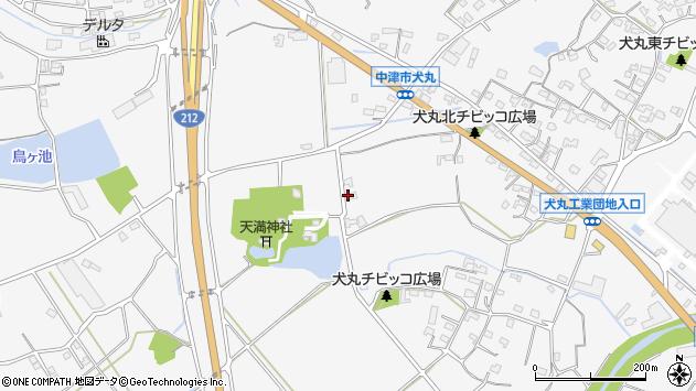 大分県中津市犬丸1501周辺の地図