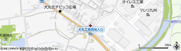 大分県中津市犬丸236周辺の地図