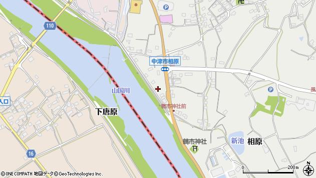 大分県中津市相原3260周辺の地図