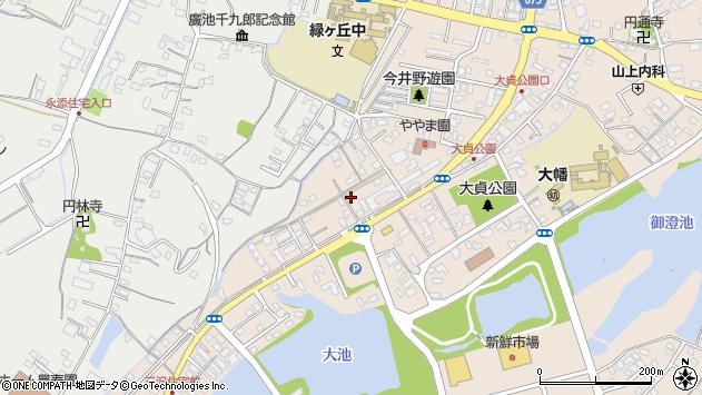 大分県中津市大貞366周辺の地図