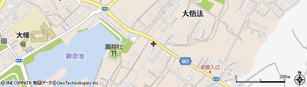 大分県中津市大貞148周辺の地図