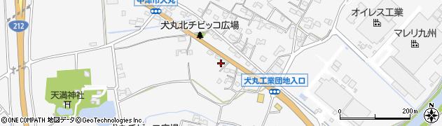 大分県中津市犬丸671周辺の地図