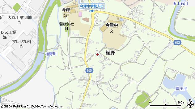 大分県中津市植野1933周辺の地図