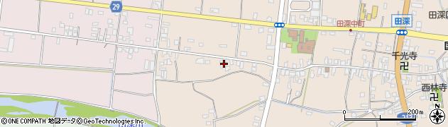 大分県国東市国東町田深62周辺の地図