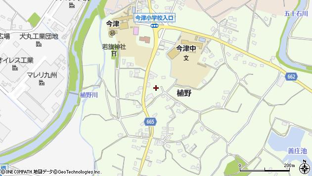 大分県中津市植野1935周辺の地図