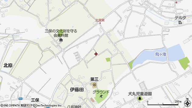 大分県中津市伊藤田2900周辺の地図