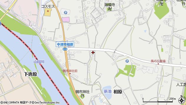 大分県中津市相原3420周辺の地図