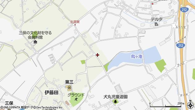 大分県中津市伊藤田2854周辺の地図
