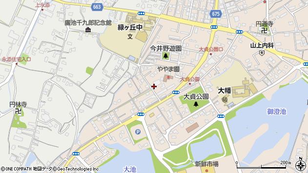 大分県中津市大貞315周辺の地図