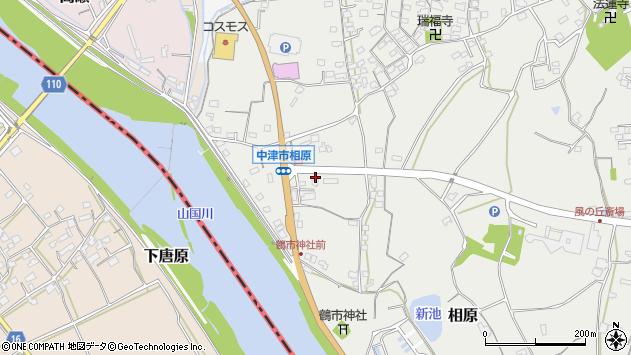 大分県中津市相原3387周辺の地図