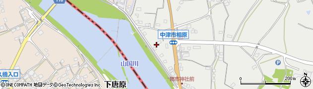 大分県中津市相原3268周辺の地図