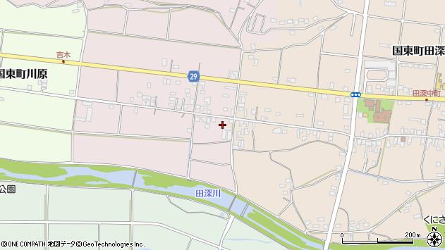 大分県国東市国東町北江230周辺の地図