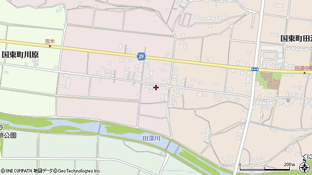 大分県国東市国東町北江228周辺の地図
