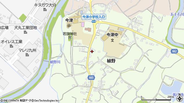 大分県中津市植野1945周辺の地図