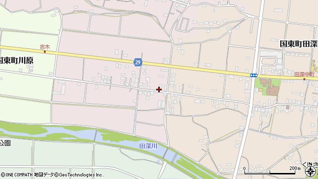大分県国東市国東町北江238周辺の地図