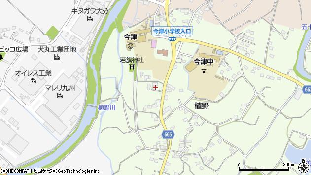 大分県中津市植野1944周辺の地図
