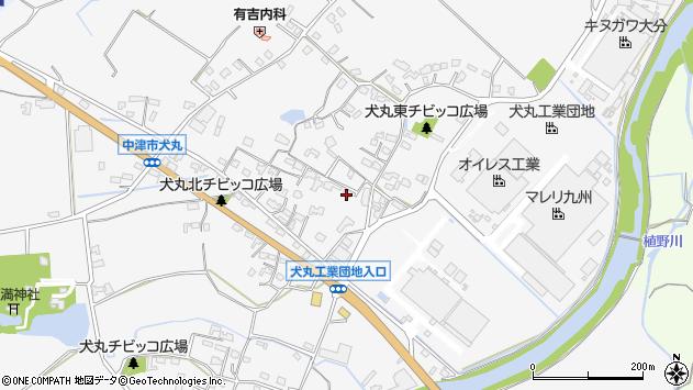 大分県中津市犬丸593周辺の地図