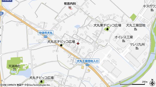 大分県中津市犬丸632周辺の地図