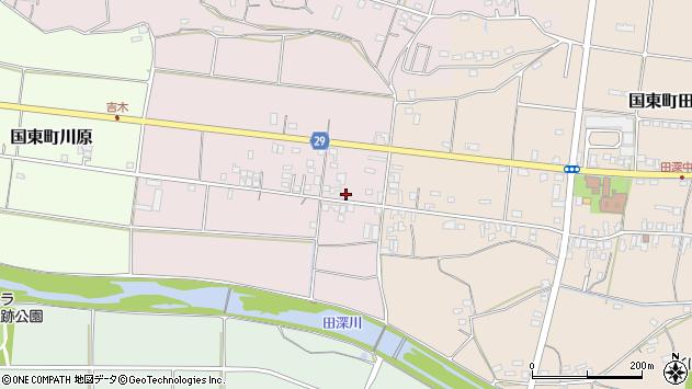大分県国東市国東町北江240周辺の地図